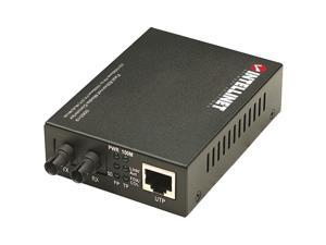 Intellinet 506519 10/100Base-Tx To 100Base-Fx (St) Multi-Mode, 2-Km Ethernet Media Converter