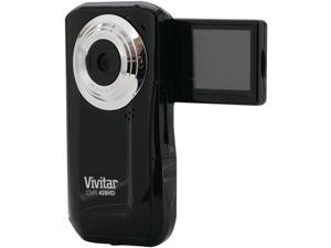 "Vivitar DVR426HD-BLK-SOL Black 5.1 MP 1.8"" LCD 4x Digital HD Digital Video Camera"