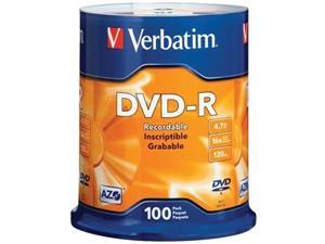 Verbatim 95102 4.7 Gb Dvd-Rs ,100-Ct Spindle