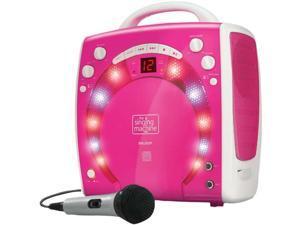 Singing Machine Sml283P Portable Karaoke System , Pink