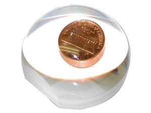 Carson LumiDome Plus 3x Polished Ball Loupe with 75mm base LD-75