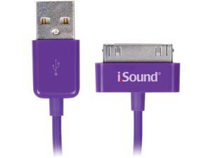 ISOUND ISOUND-1634 Apple® iPad® , iPhone® iPod® Charge & Sync Cable, 3 FT