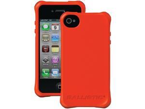 Ballistic Red Smooth Series Case for Apple iPhone 4/4S LS0864-N435