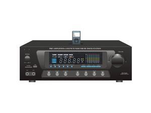 PYLE PT270AIU 300 Watt Stero Receiver with Built-In iPod Docking Station -AM-FM Tuner