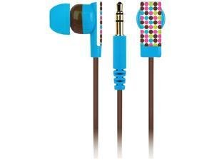 Macbeth Collection Biarittz Micro Dot MB-EB1BD Earbud Earphones