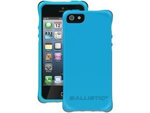 BALLISTIC LS0955-M075 iPhone(R) 5/5S LS Smooth Case (Teal with 4 Purple, 4 Teal, 4 White, 4 Black Bumpers)