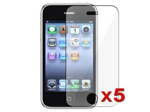 eForCity 5 LCD Screen Protector Cover Guard Film Shield Shield Guard Cover Compatible With iPhone 3G