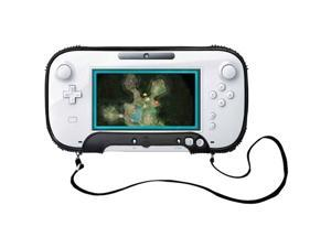 Cta Digital Wi-Upcs Gamepad Protective Case With Neck Strap Compatible With Wii U