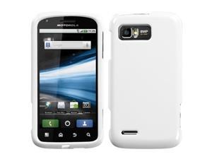 MYBAT Solid Ivory White Phone Protector Cover for MOTOROLA MB865 (Atrix 2)