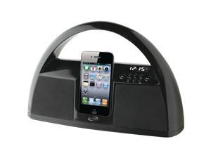 iLive Portable Boombox Music System for iPod and iPhone IBP181B