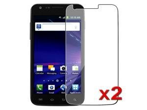 eForCity Transparent Clear LCD Screen Protector Film Compatible With Samsung© Galaxy S2 Skyrocket (Twin Pack)