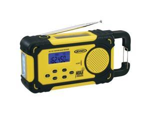 JENSEN  MR750 AM/FM Weather Band Radio With Weather Alert