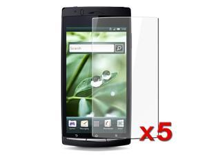 eForCity Compatible With Sony Ericsson Xperia Arc X12 LCD Protector Bundles - 5-Pack