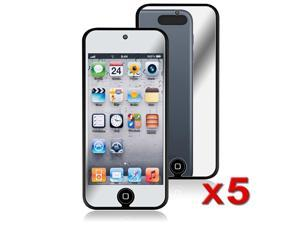 eForCity 5 x Mirror Screen Protector Compatible with Apple® iPod Touch 5 / 5th / 5 th / Gen5 / 5 Gen / 5 Generation