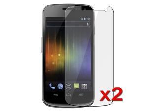eForCity Transparent Clear LCD Screen Protector Film for Samsung© Galaxy Nexus i9250 (Twin Pack)