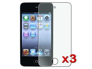 3 packs of Colorful Diamond Screen Protectors Film compatible with Apple® iPod touch 4th Gen