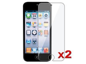 eForCity 2 x Reusable Screen Protector Compatible with Apple® iPod Touch 5 / 5th / 5 th / Gen5 / 5 Gen / 5 Generation