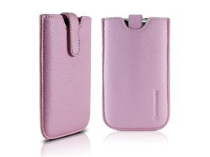 Marware Apple® iPod touch® 3G / 2G Glide Leather Pouch with Screen Protector, Pink
