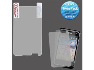 MYBAT Screen Protector Twin Pack for LG MS770 (Motion 4G)