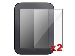 2 packs of Reusable Screen Protectors for Barnes & Noble NOOK Simple Touch with GlowLight