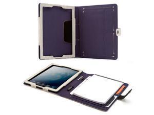 Booq Apple iPad 2 / 3 Booqpad Leather Case, Sand / Plum
