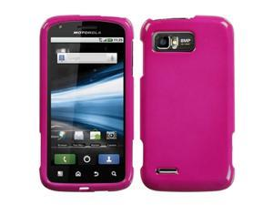 MYBAT Solid Hot Pink Phone Protector Cover for MOTOROLA MB865 (Atrix 2)