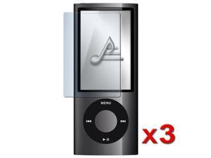 3x Reusable Screen Protector Compatible With Apple® iPod Gen5 Nano