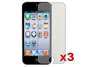 eForCity 3 x Colorful Diamond Screen Protector Compatible with Apple® iPod Touch 5 / 5th / 5 th / Gen5 / 5 Gen / 5 Generation