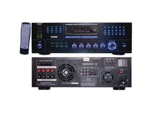 Pyle Home Pd3000A 3,000-Watt Am/Fm Receiver With Built-In Dvd, Mp3 & Usb