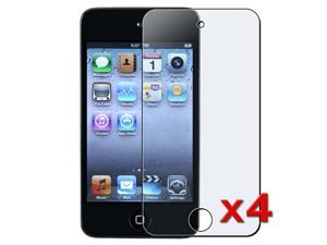 eForCity 4X Anti Glare Matte LCD Screen Protector Cover for Apple® iPod Touch 4th Gen 4G 4