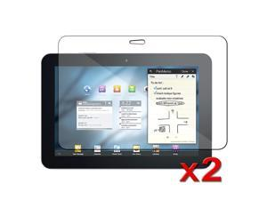 "eForCity 2 Clear Screen Protector Cover Films compatible with Samsung© Galaxy Tab 8.9"" P7300 P7310"
