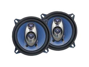 PYLE CAR AUDIO PL53BL NEW 5.25 INCH 200 WATT THREE WAY TRIAXIAL SPEAKER SYSTEM