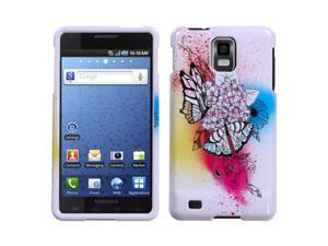 MYBAT Phone Protector Case compatible with Samsung© I997 (Infuse 4G), Butterfly Paradise
