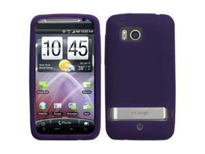 MYBAT Solid Skin Cover (Dr Purple) for HTC ADR6400 (Thunderbolt)