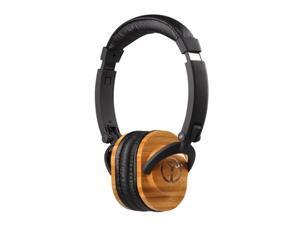 Sonix Sonix Roots Premium Headphones, Black / Brown
