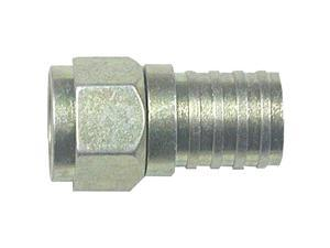 Eagle Aspen 100-Pack Fc-6Wpg-B Rg6 Zinc-Plated Connector With O-Ring & Gel