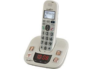 Clarity 53722.000 Amplified Cordless Phone System With 4 Photo Dial Buttons