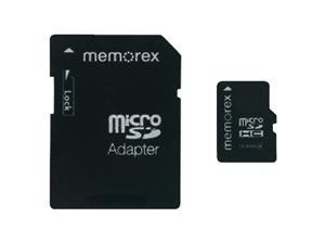 Memorex 98053 Micro Secure Digital High-Capacity? Travelcard4 Gb)