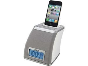 Ihome Ip21Wvc Space Saver Alarm Clock compatible with iPhone/iPod