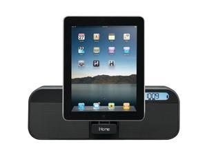 iHome Id28Bzc App-Enhanced Portable Rechargeable Fm Alarm Clock Radio With Remote Compatible with iPhone/iPad/iPod