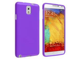 Samsung Galaxy Note III N9000 TPU Case , Purple Jelly