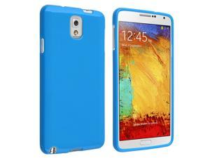 Samsung Galaxy Note III N9000 TPU Case , Blue Jelly
