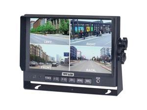 "Crimestopper Sv-8900.Qm.Ii 7"" Color Lcd Monitor With Built-In Quad View"
