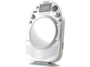 JENSEN JCR-525 AM/FM Stereo Shower Radio with CD