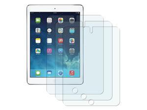 eForCity 3-Pack Reusable Anti-Glare Screen Protector compatible with Apple iPad Air