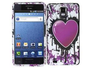 HRW Design Phone Case Cover Compatible With Samsung© i997 Infuse 4G , Heavenly Heart