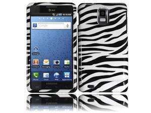 HRW Design Phone Case Cover Compatible With Samsung© i997 Infuse 4G , Zebra