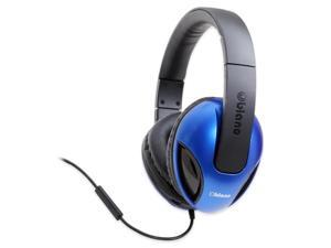 Syba Oblanc Cobra200 OG-AUD63041  Stereo Headphones with In-Line Microphone & Call Control (Blue)