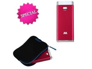 MYBAT Red Li-ion Power Bank (5600 mAh)