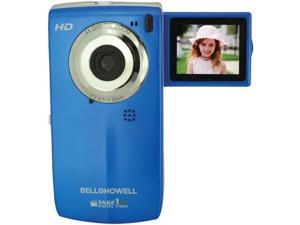 BELL+HOWELL T100HD-BL Take1HD Digital Video Camcorder with Flip-Out LCD Screen ,Blue